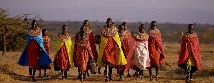 Traveler Photo of the Week | BRABBU  brabbu news, ebony wood veneer, ethnic groups, gloss varnish, travel, Traveler Picture of the Week | Masai Tribe, twill, unique dress style