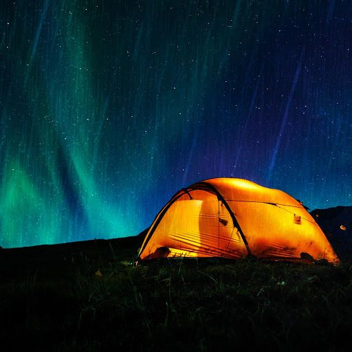 The sound of light rain falling gently on a canvas tent in the woods evokes the & The sound of light rain falling gently on a canvas tent in the ...
