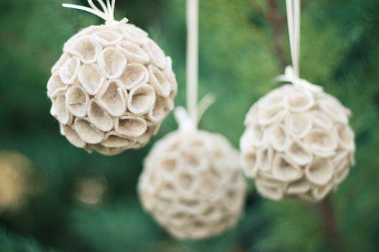 DIY: felt ornament