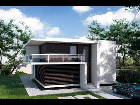 Modern Minimalist House Design And Plans Youtube Minimalist Small