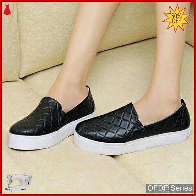 Ofdf187 Sepatu Slip On Wanita Poxing Loppe Sepatu Sepatu Wanita