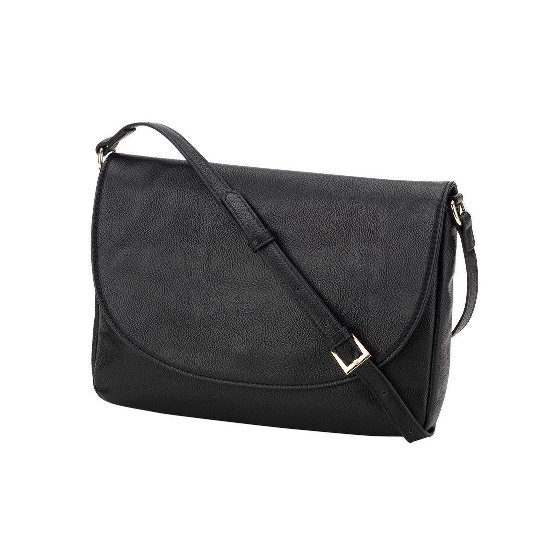 f5c679b2b1 Black Anna Crossbody Bag - Personalized, FW2018, personalized, purse, vegan  leather, women, womens accessories, Viv&Lou, Bag ...