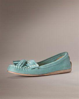 Ooh, I'm loving these!  Frye Alex Tassel Moc