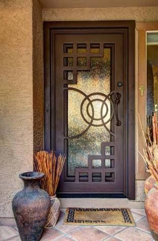 Resultado de imagen para puertas de herreria puertas en for Puertas principales de casas