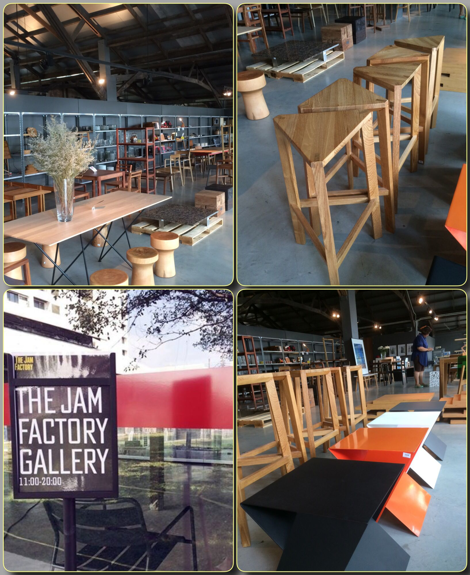 The Jam Factory Gallery No.4 | Cafe restaurant. Table decorations. Decor