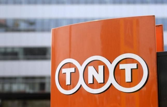 The Tnt Express Logo Is Pictured At The Headquarters In Hoofddorp