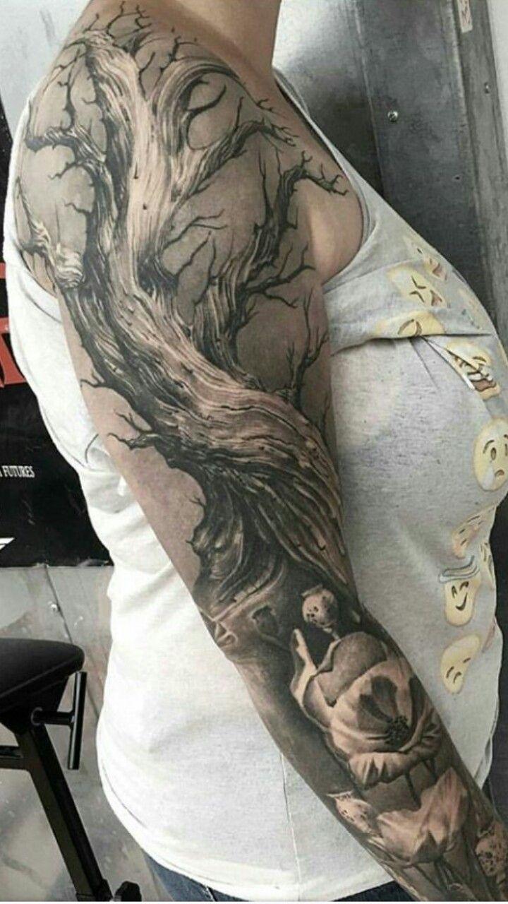 Level Of Detail Tattoos Skull Tattoo Best Sleeve Tattoos