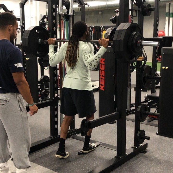Squat and bench PR... @chrisunodenton @athletetrainingandhealth #strengthtraining #healthandfitness...