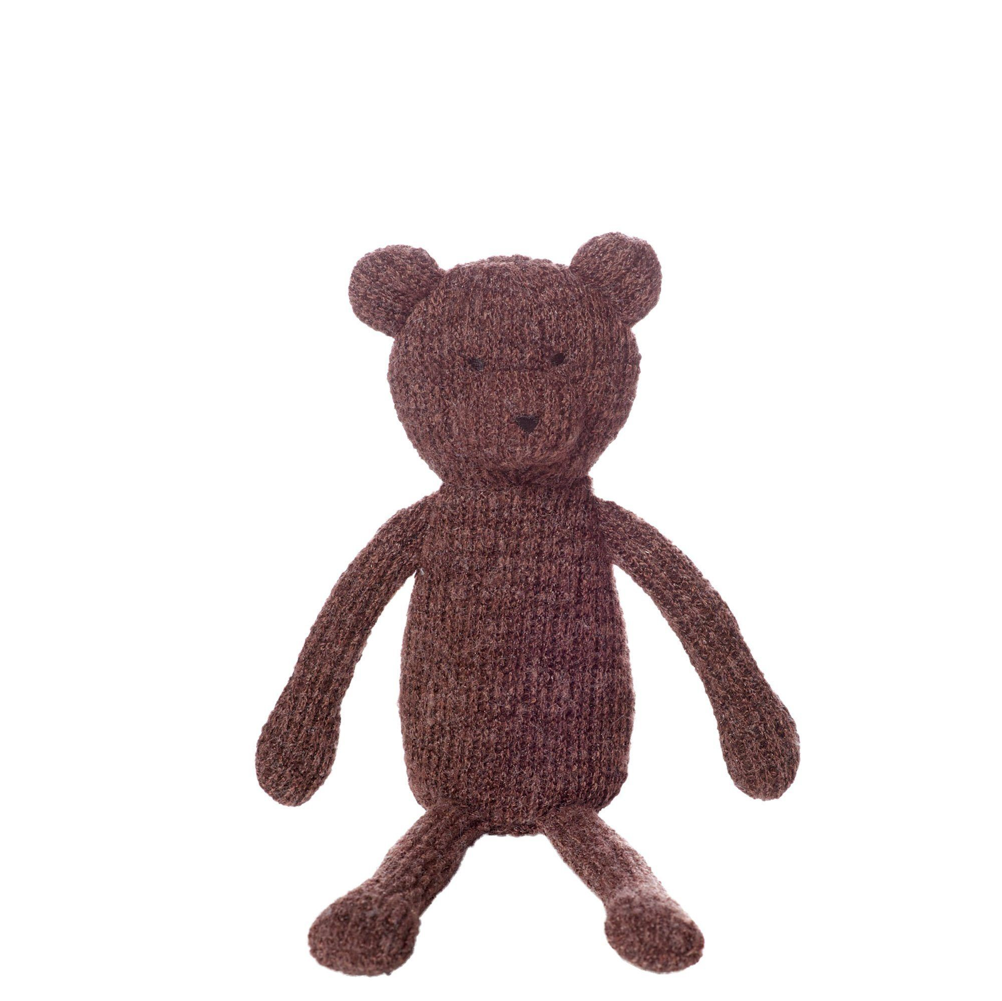 Can You Wash Stuffed Animals That Say Surface Wash Only Knits Juno Bear Stuffed Animal Manhattan Toy Knitted Stuffed Animals