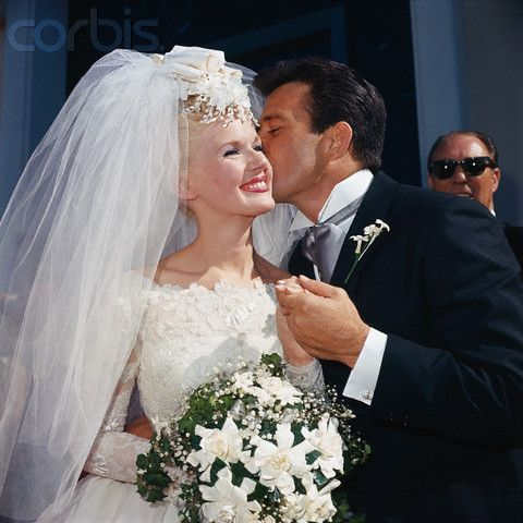 Actress/Singer Connie Stevens and actor James Stacy were  married 1963-1967.  She was then married t