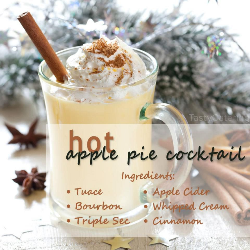 perfect fall drink hot apple pie cocktail cocktails kokos pinterest. Black Bedroom Furniture Sets. Home Design Ideas