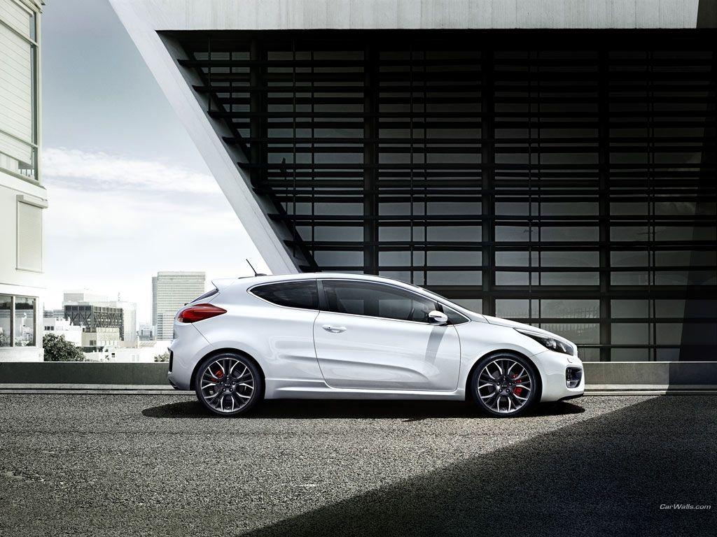 2014 Kia Pro Cee'd GT Car side view, Kia, Dream cars