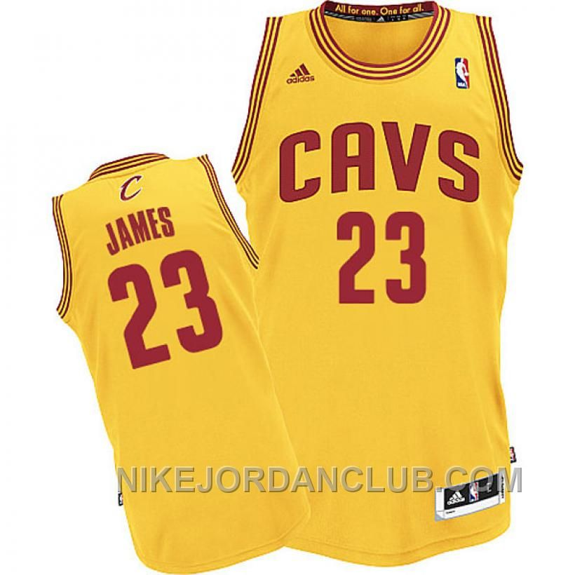 45a94802a8b1 Discover the LeBron James Cleveland Cavaliers CAVS Revolution 30 Swingman  Gold Jersey For Sale ReHfYS collection at Footseek. Shop LeBron James  Cleveland ...