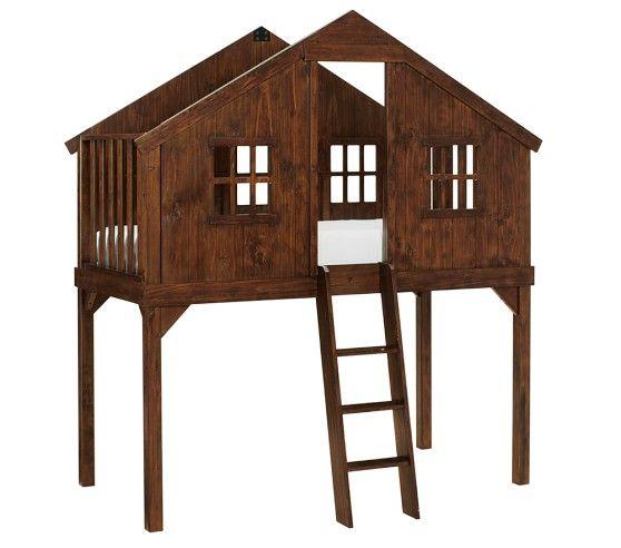 Tree House Bed | Pottery Barn Kids | kids room ideas | Pinterest