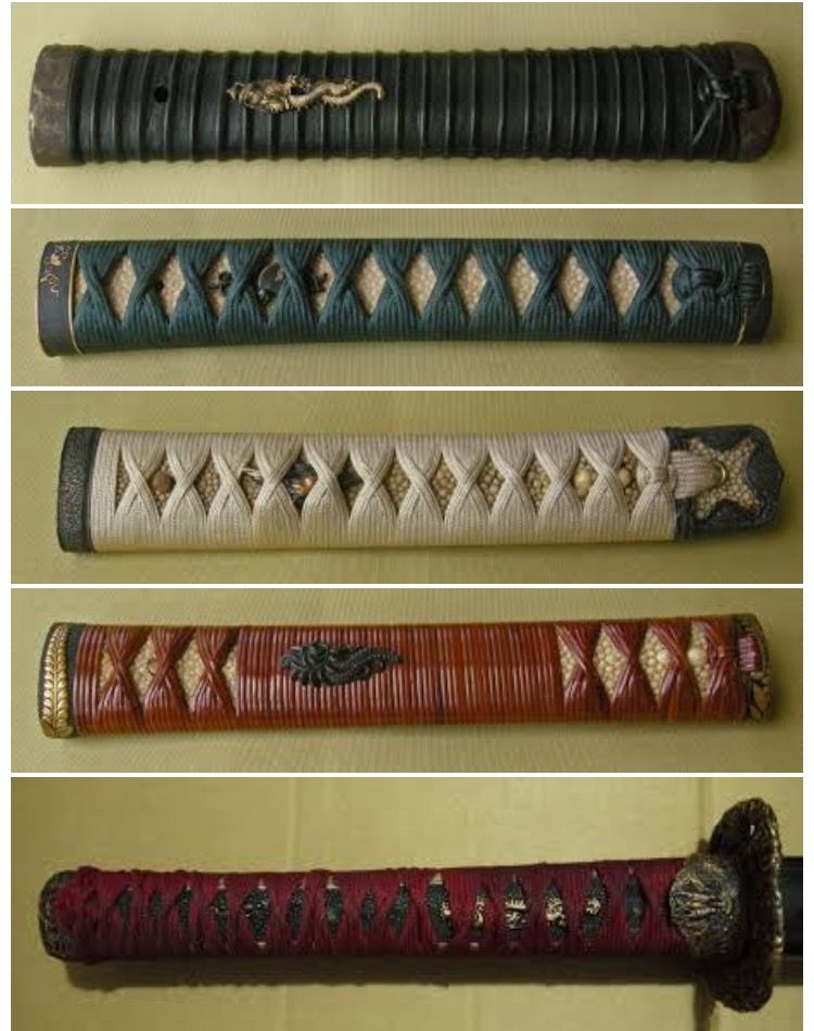 Five common tsukas koshiraes.