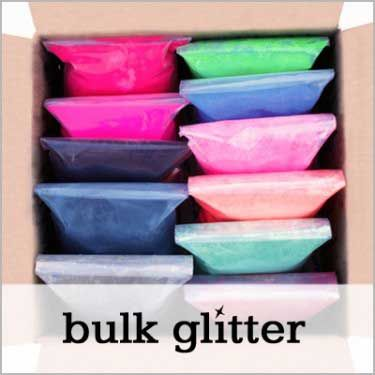 Bulk Glitter | SUPPLIES | Bulk glitter, Glitter crafts