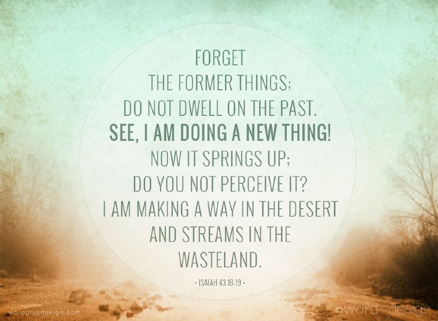 Image result for isaiah 43 18-19