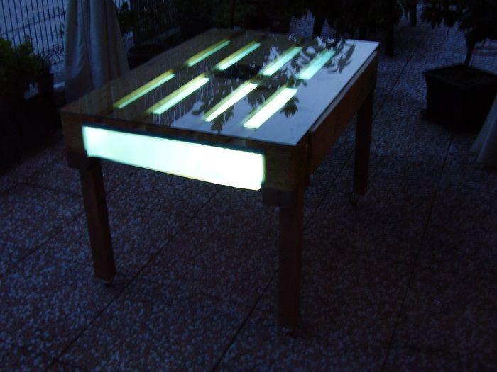 Tavolo Bancali ~ Tavolo fatto con bancali progettini di casa