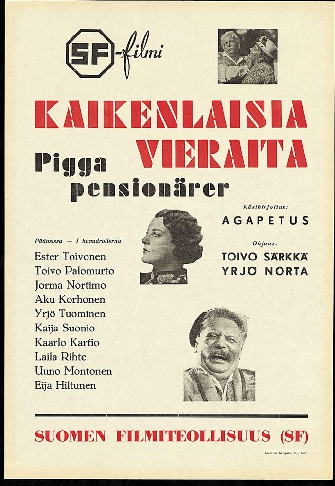 Kaikenlaisia vieraita (1936)