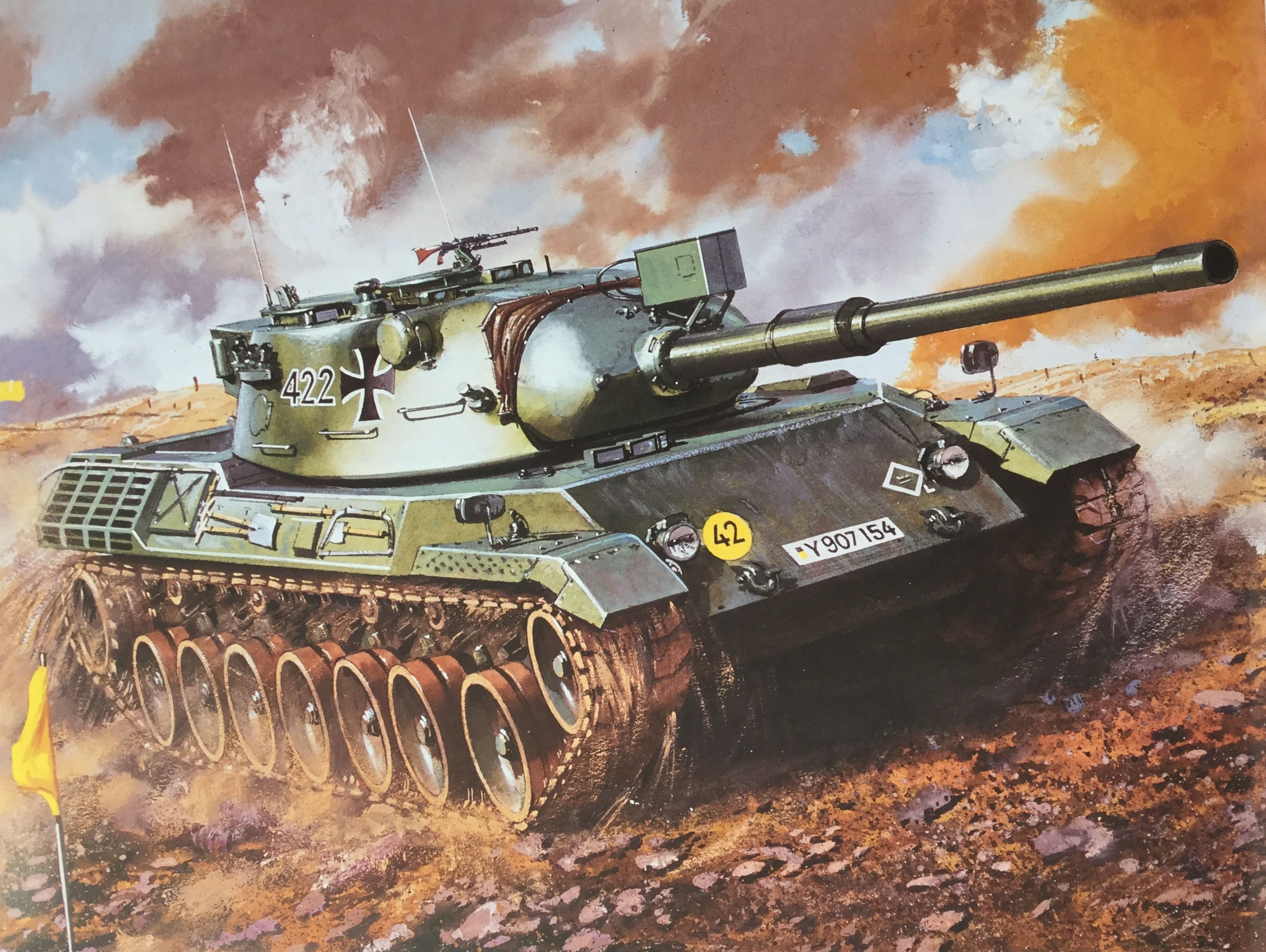 Roy Cross - Leopard Tank | Tanks | Military art, Ww2 tanks
