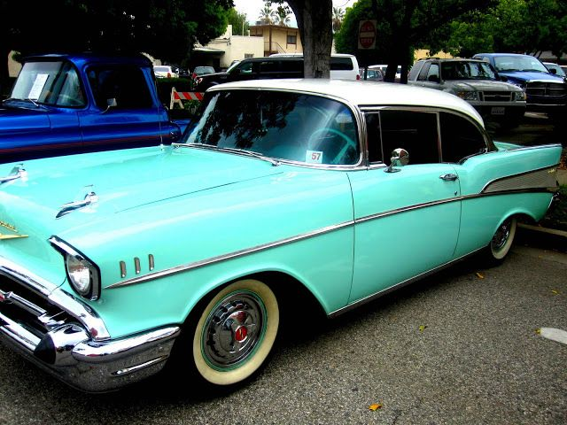 Old Time Cars Classic Cars And Confetti Cake Chevy Belairs