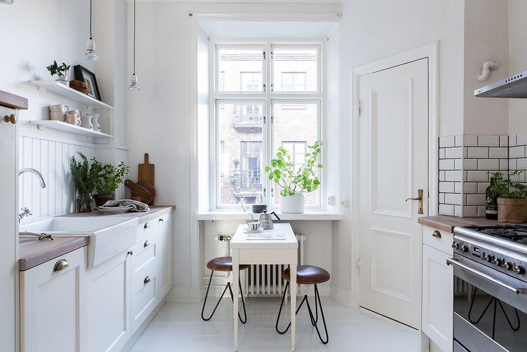 kleine Küche | For the Home | Pinterest | Küche, Küchen design und ... | {Skandinavische kücheneinrichtung 34}