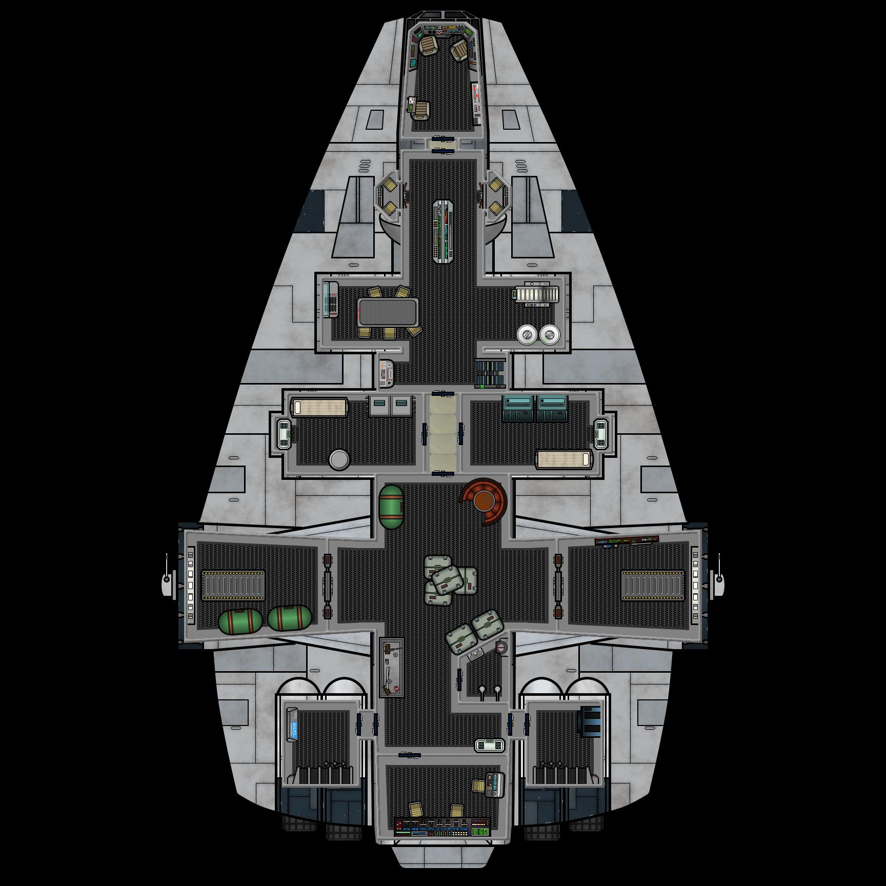 Barloz-class Medium Freighter (Deck Plan)   Star Wars in