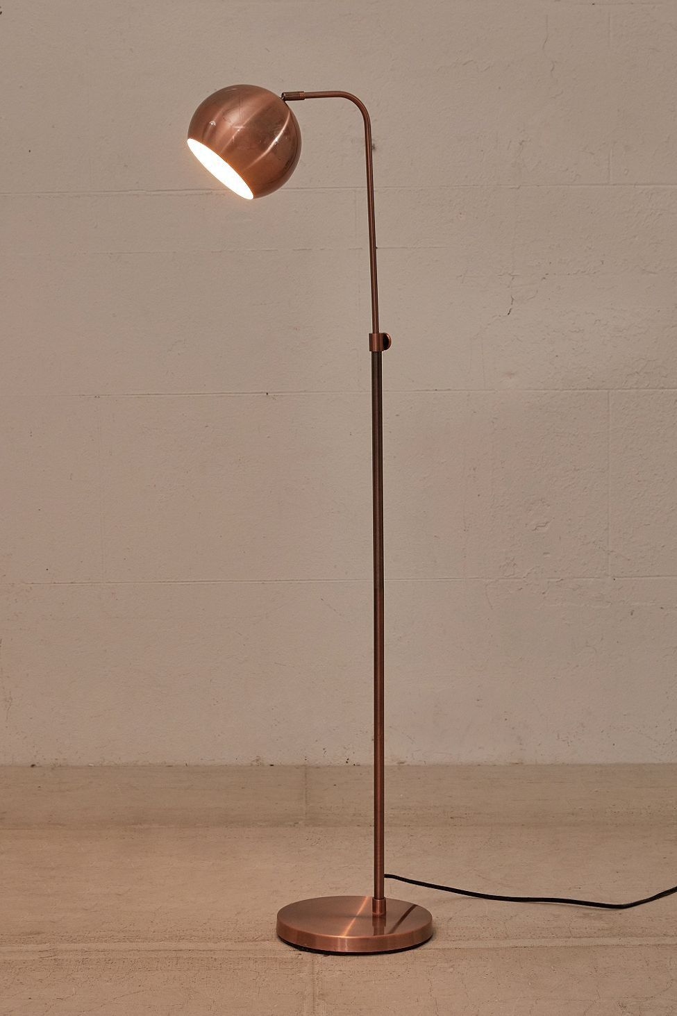 Urban Outfitters Gumball Floor Lamp Copper One Size Stehlampe