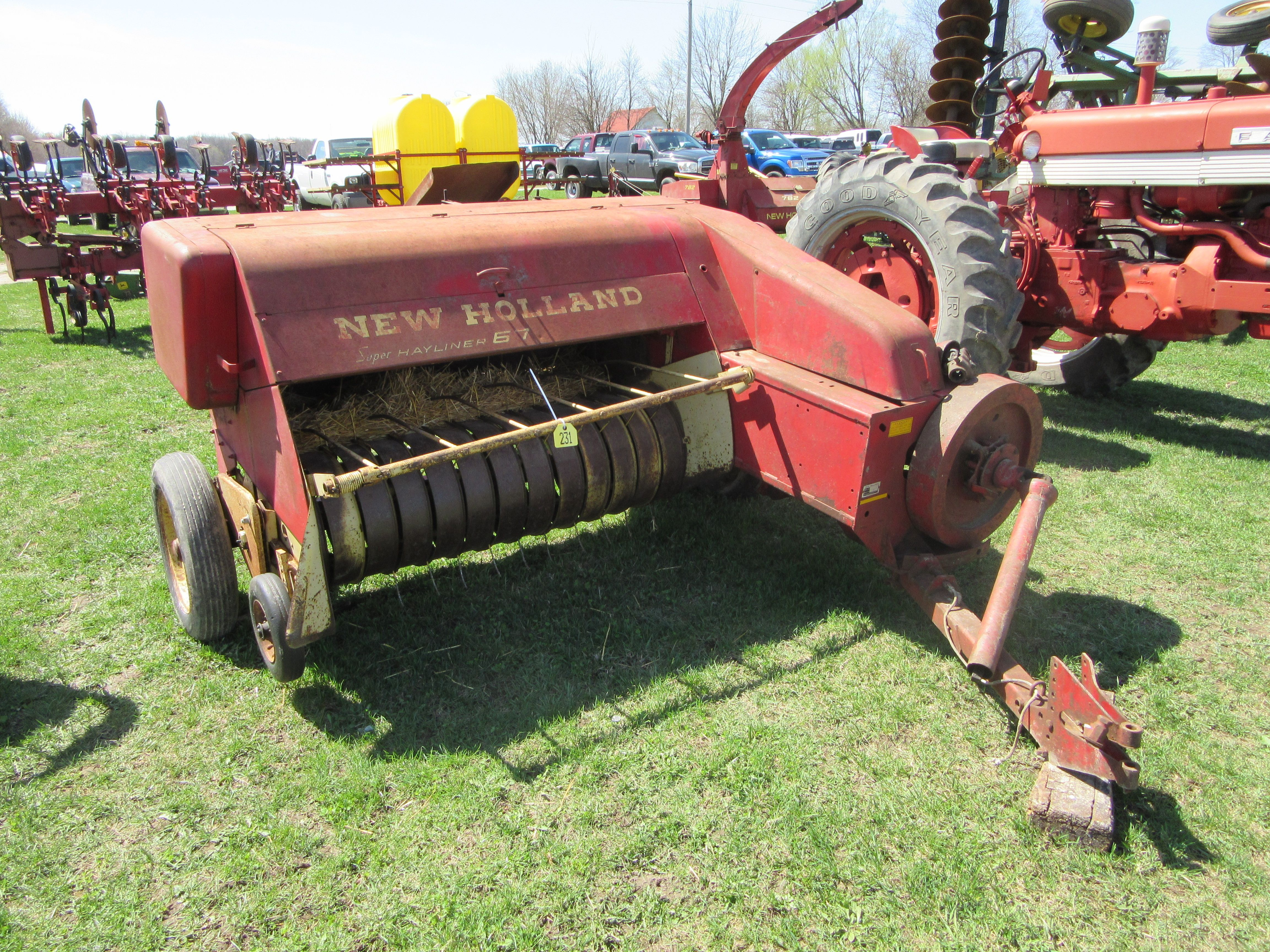 New Holland 67 Super Hayliner hay baler