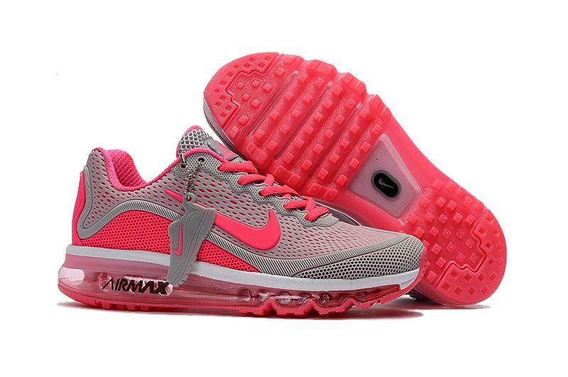 fbbd43facd Woman's Nike Air Max 2017 KPU Running Shoes Wolf Grey/Peach 898013-060