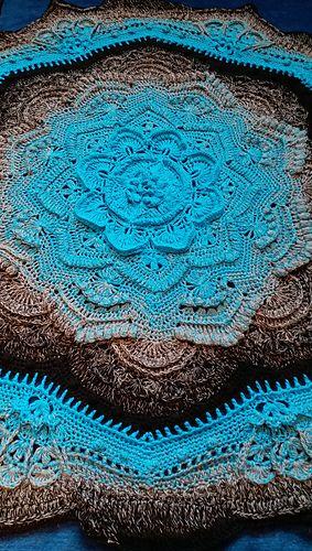 Mandala Madness pattern by Helen Shrimpton #crochetmandalapattern