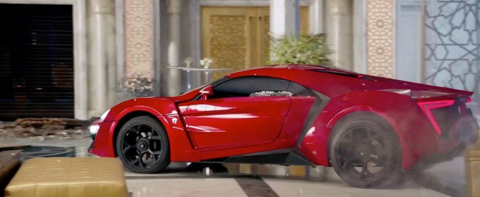 W Motors Lykan Hypersport Fast And Furious Fast Furious