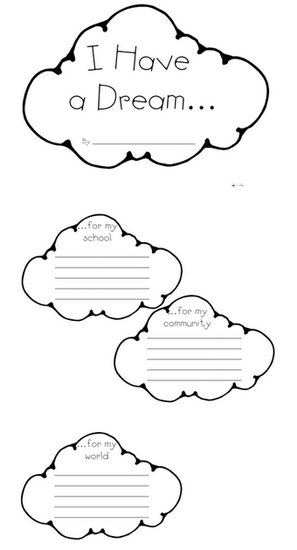 Mlk Day Dream Mobiles Kids Education Pinterest Lesson Plans