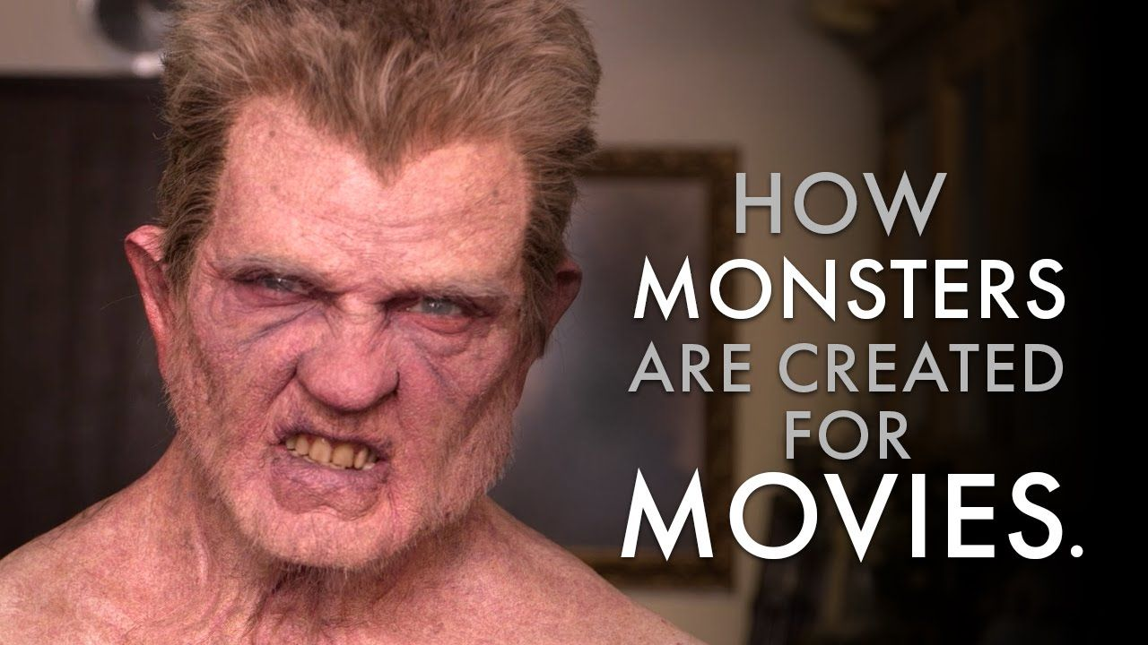 This about how monster makeup/masks are put together for