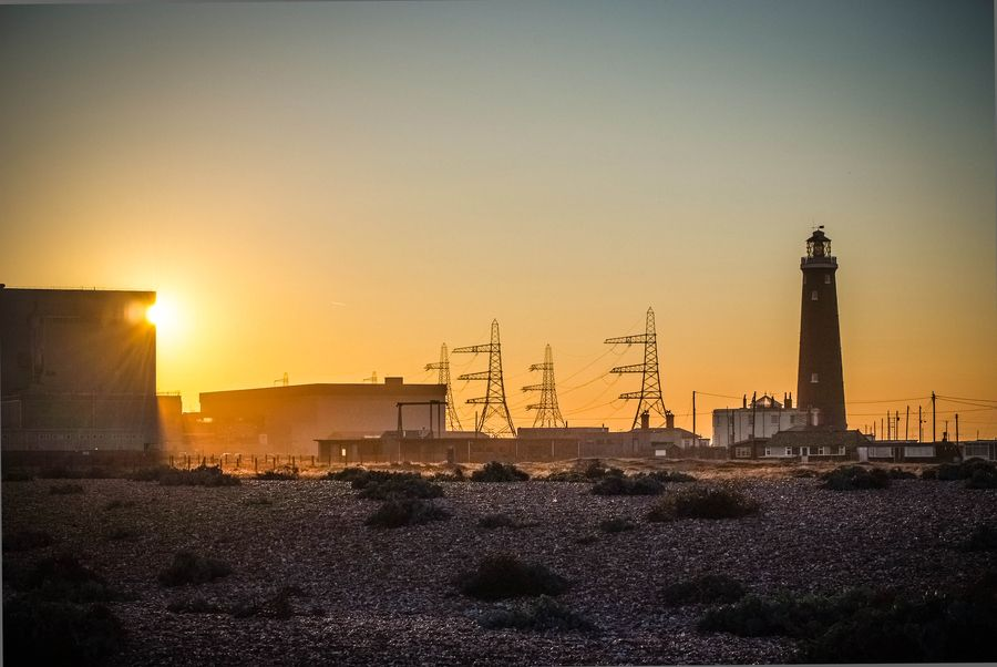 Nuclear Sunset, Dungeness B by Phil Clarkstone, via 500px