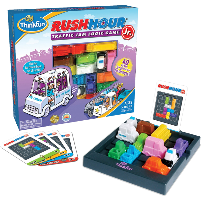 Rush Hour Jr. by Puzzle Master Rush hour game, Logic games