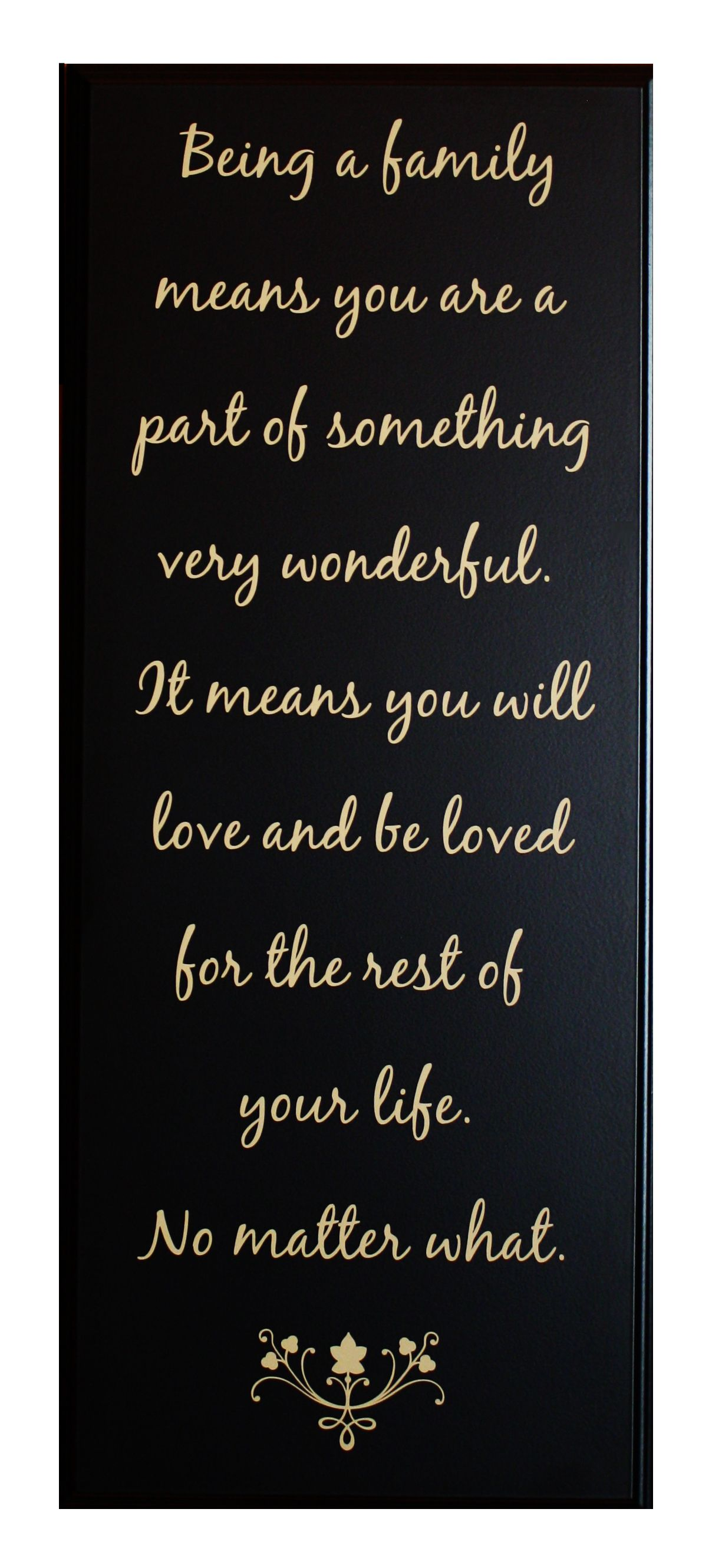 The Meaning Of Family Beautiful Quotes To Live By Pinterest