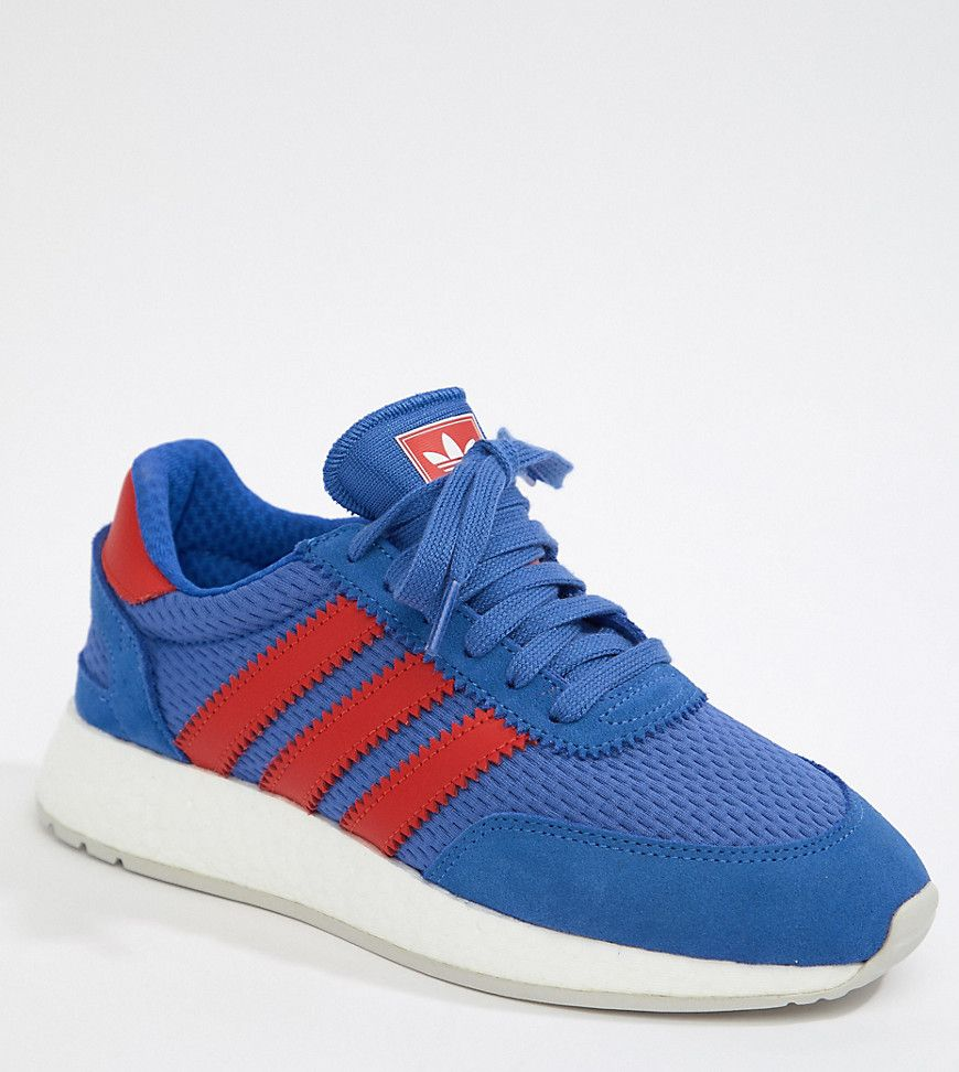 Adidas Originals I 5923 Sneakers In Blue And Red Blue