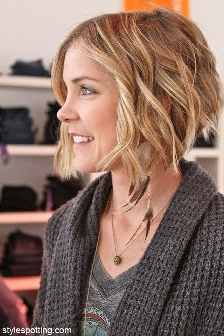 Cute Hairstyles For Wavy Hair Fascinating Short Layered Wavy Hair Cute Hairstyles  Wavy Hair Layering And