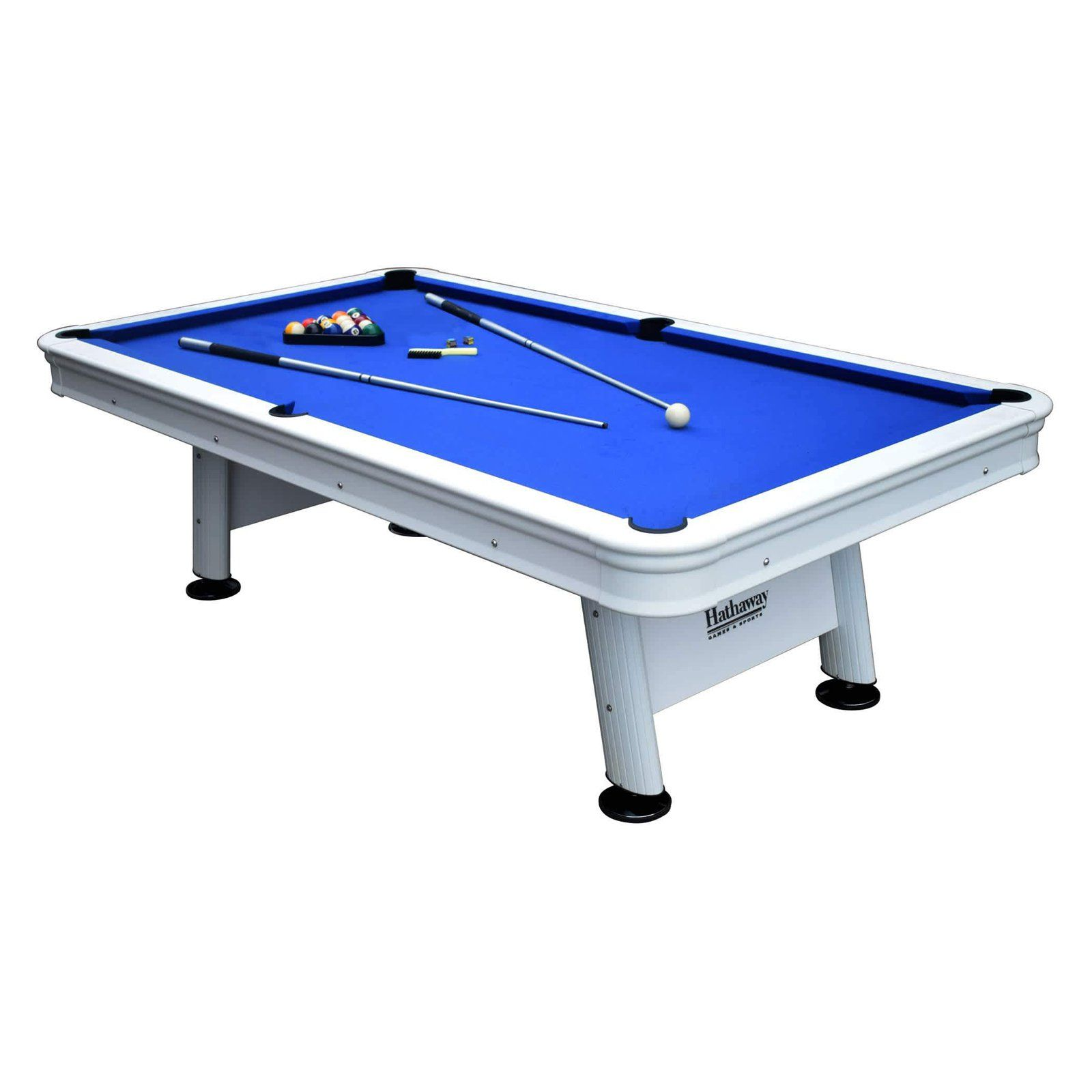 Hathaway Alpine 8 Ft Outdoor Pool Table Outdoor Pool Table