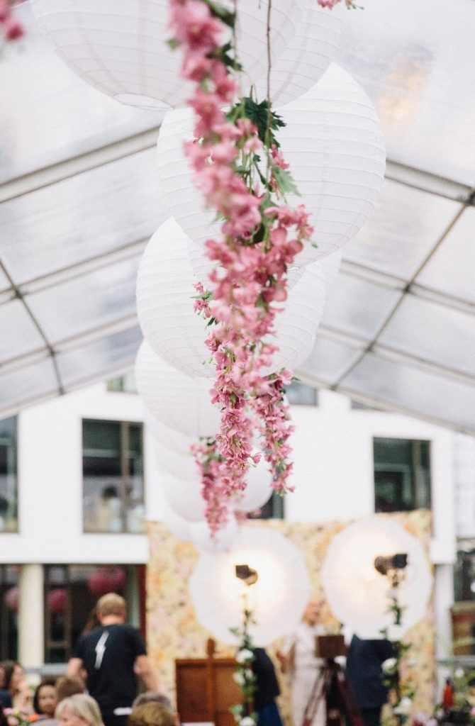 Real Wedding Dock Kitchen | Modern wedding theme, Wedding ...