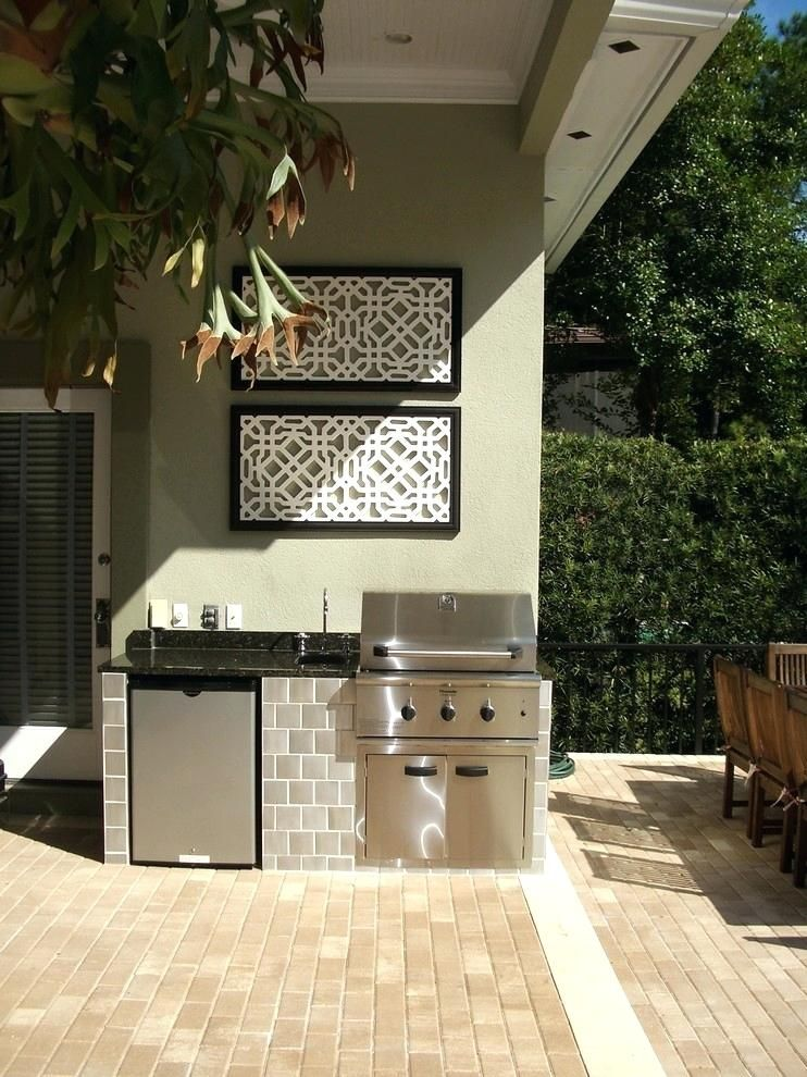 Outdoor Kitchen Ideas On A Budget Affordable Small And Diy Outdoor Kitchen Ideas Farmhouse Kitchen Design Kitchen Design Small Luxury Kitchen Design