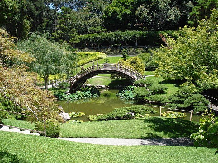 Japanese Garden, Pasadena, California Japanese garden