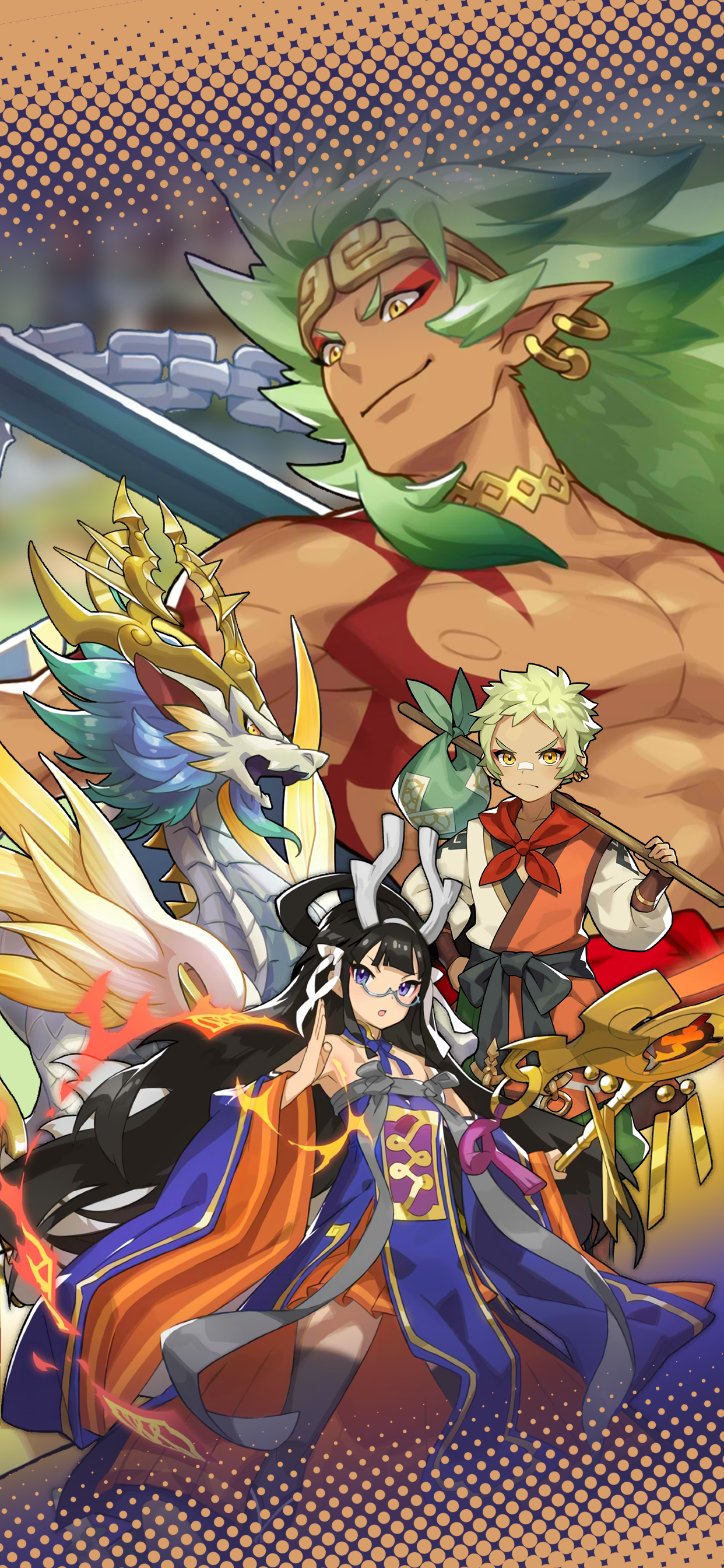 Dragalia Lost Echoes of Antiquity wallpaper in 2020