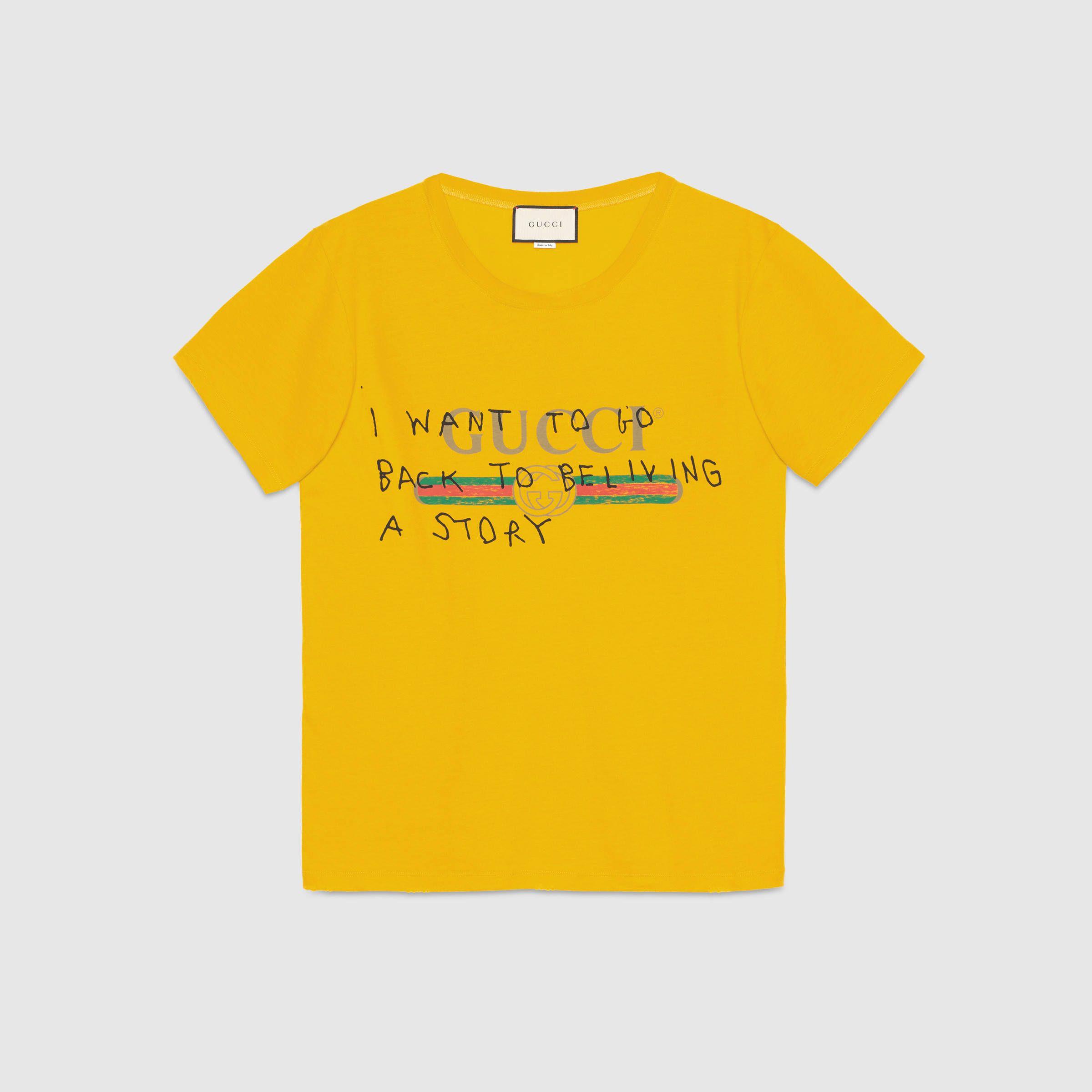 1311299a113ad Gucci Coco Capitán logo T-shirt