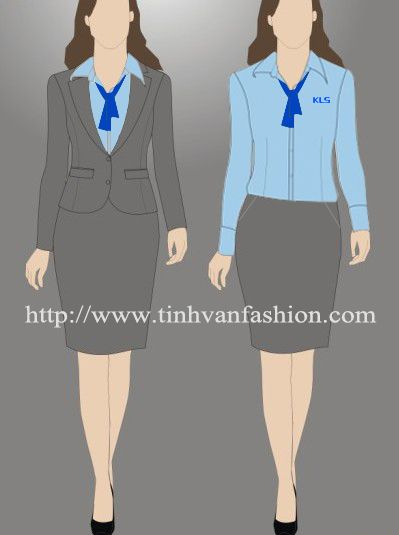 Nou2015 office uniforms designs pinterest office uniform for Office uniform design 2014