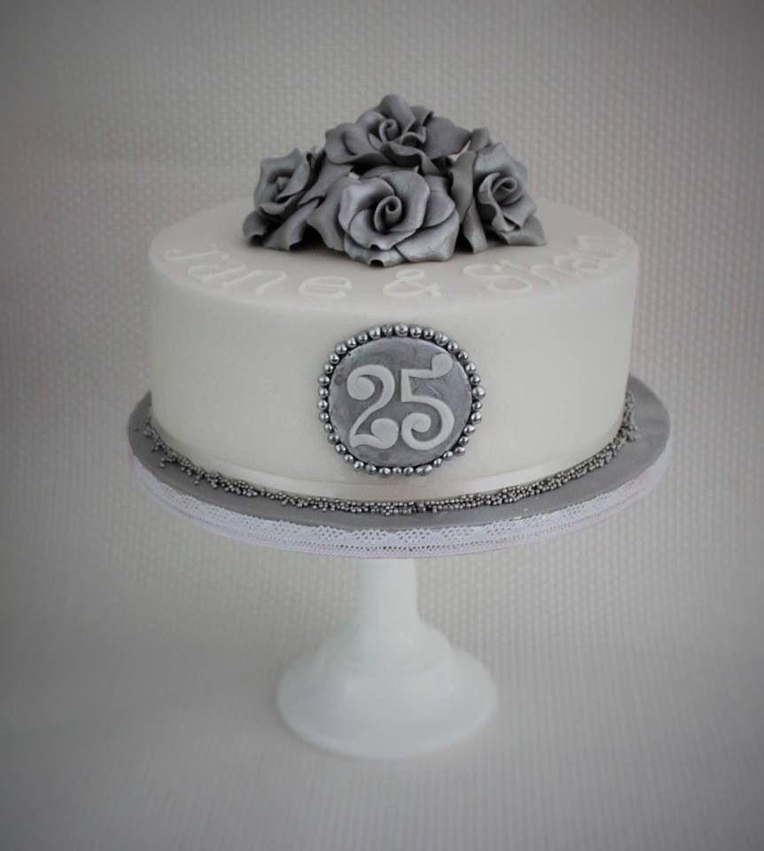 серебряная свадьба торты картинки настоящее