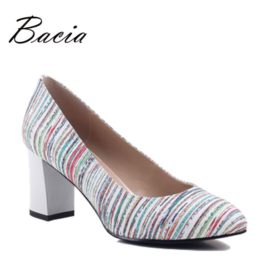 Bacia Genuine Leather Shoes New 2017 Women Spring Summer High ...