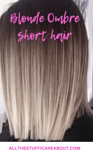 Ideas To Go Blonde Short Icy Ombre Allthestufficareabout Com Short Ombre Hair Straight Hairstyles Blonde Ombre Short Hair