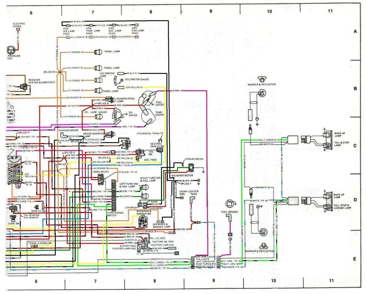 17  76 Jeep Cherokee Engine Wiring Diagram Engine Diagram